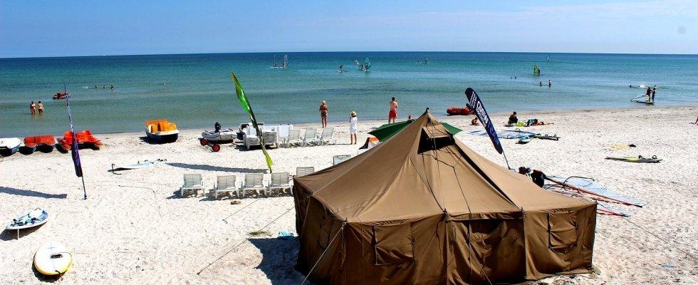 Balka strand Camping